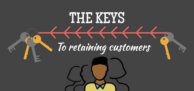 The key to retaining-customers