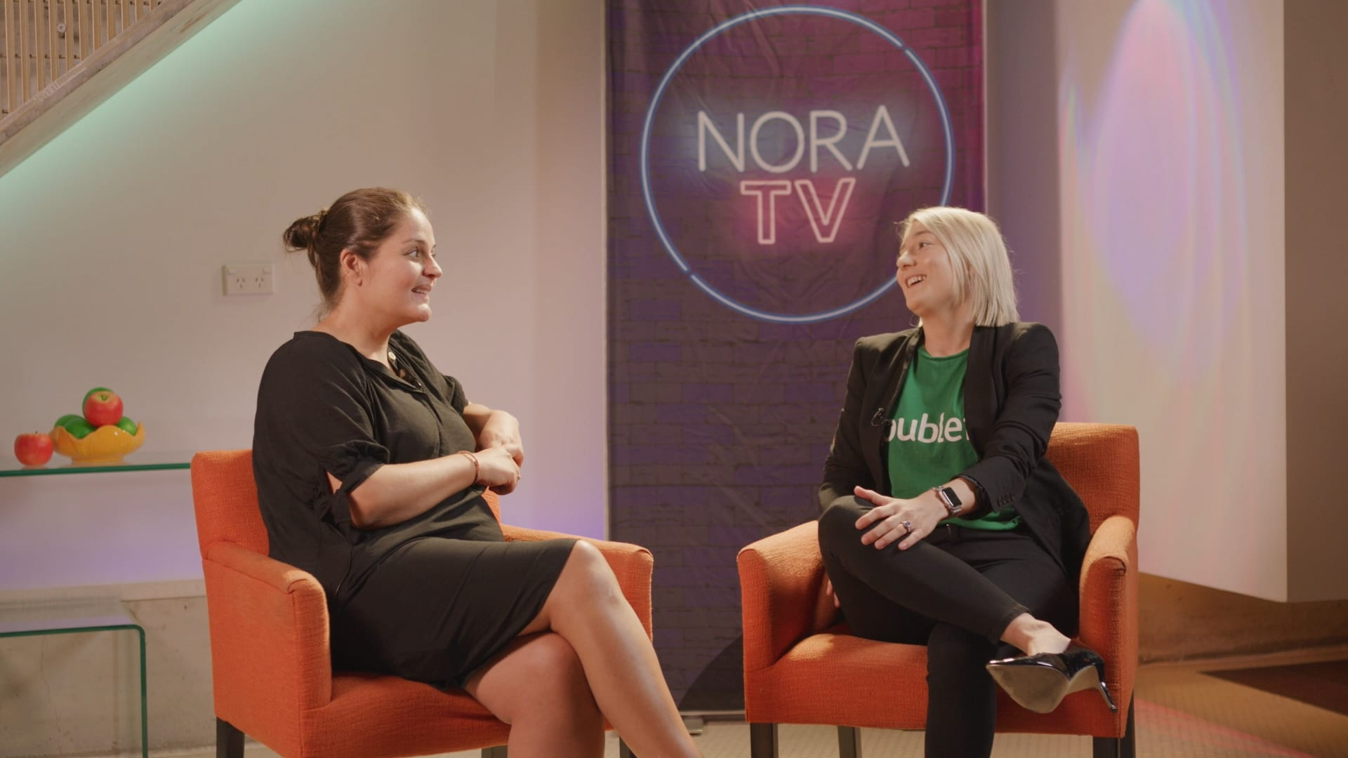 Roubler interview on NORA TV 2