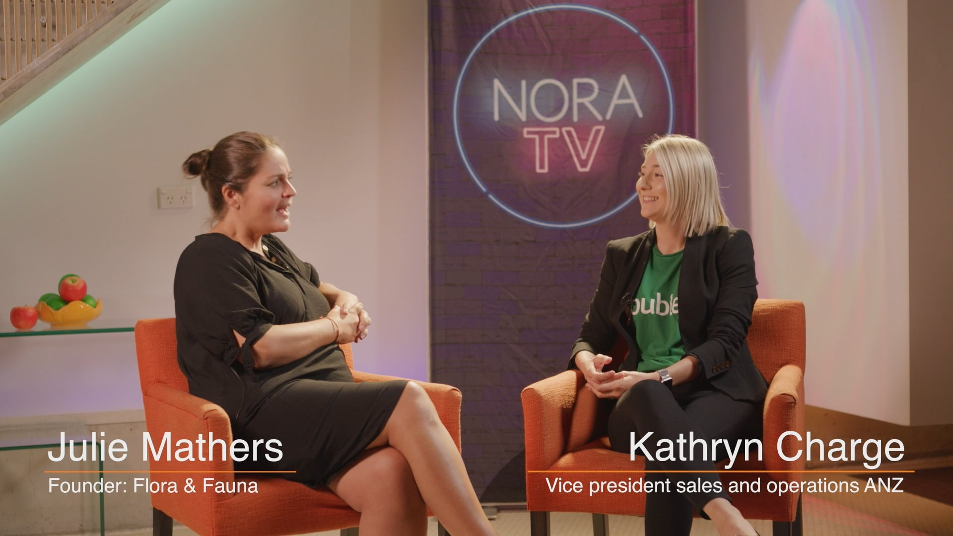Roubler interview NORA TV