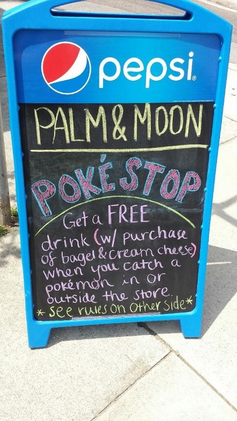Pokémon Go at work