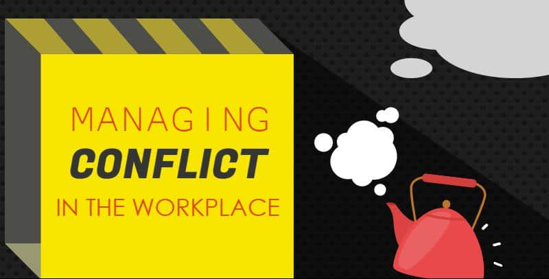 how to manage conflict in the workplace