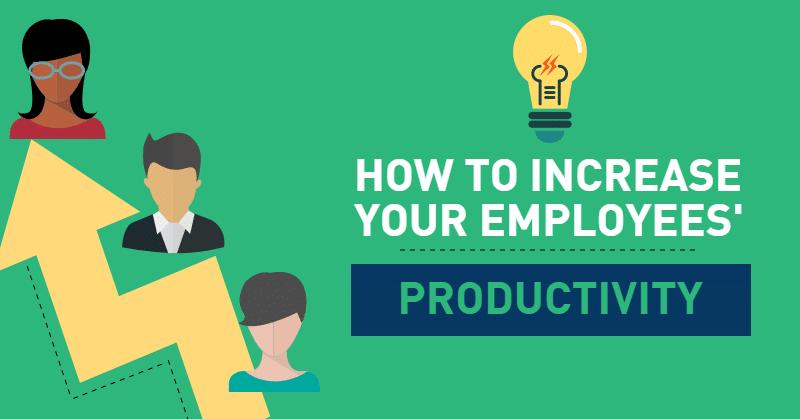 increase employee productivity