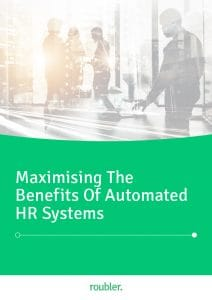E-book about maximising the benefits of HR automation