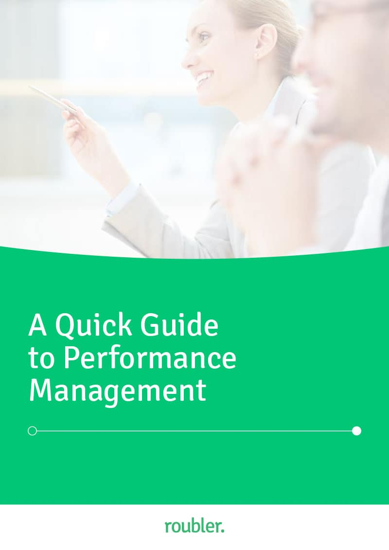 Roubler's Quick Guide to Performance Management