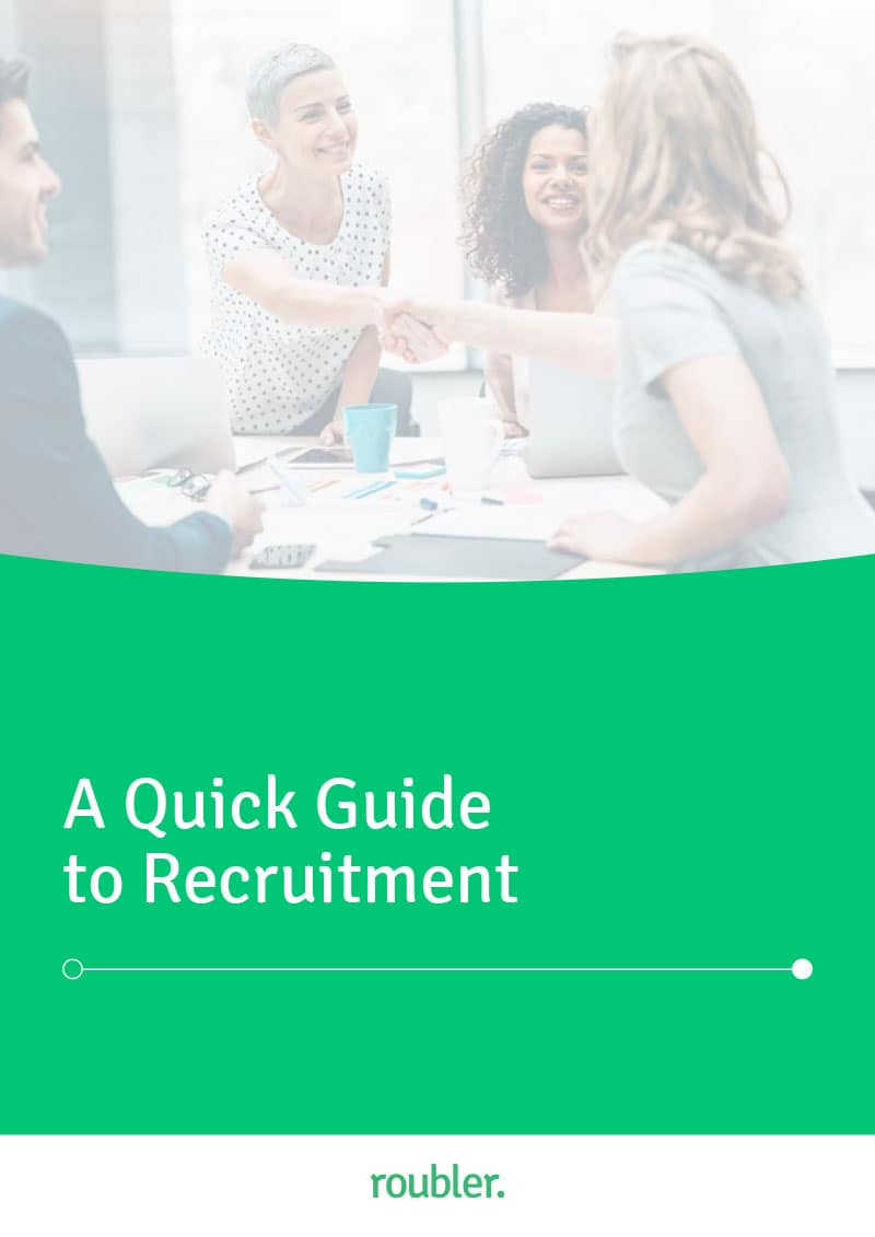 Roubler's Quick Guide to Recruitment E-book