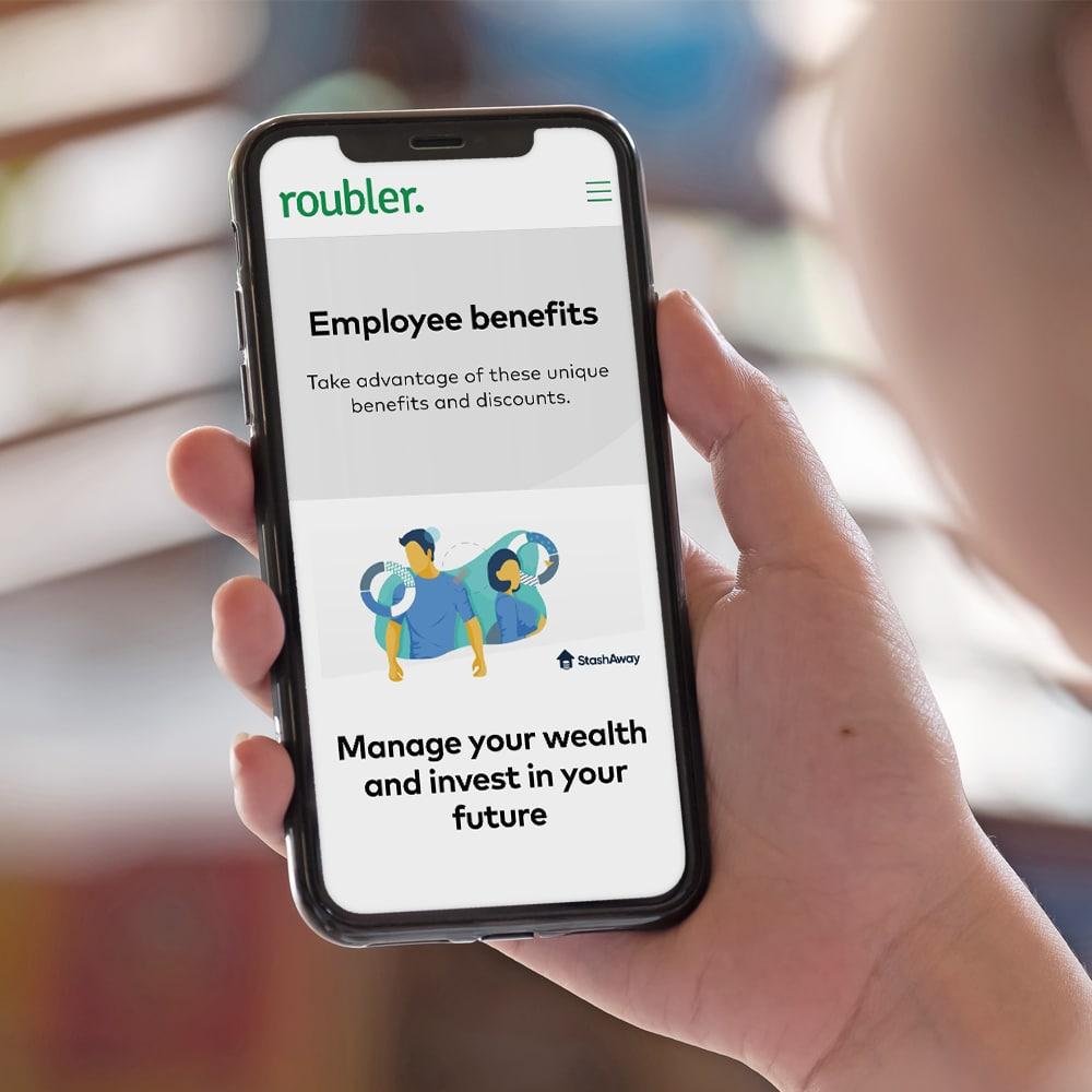 employee benefits in app