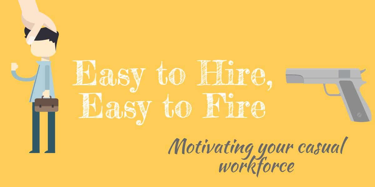 motivating your casual employees