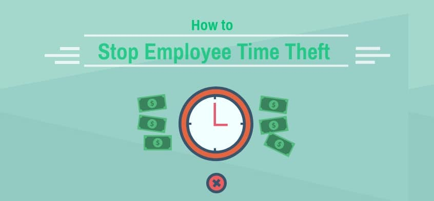 how to stop employee time theft