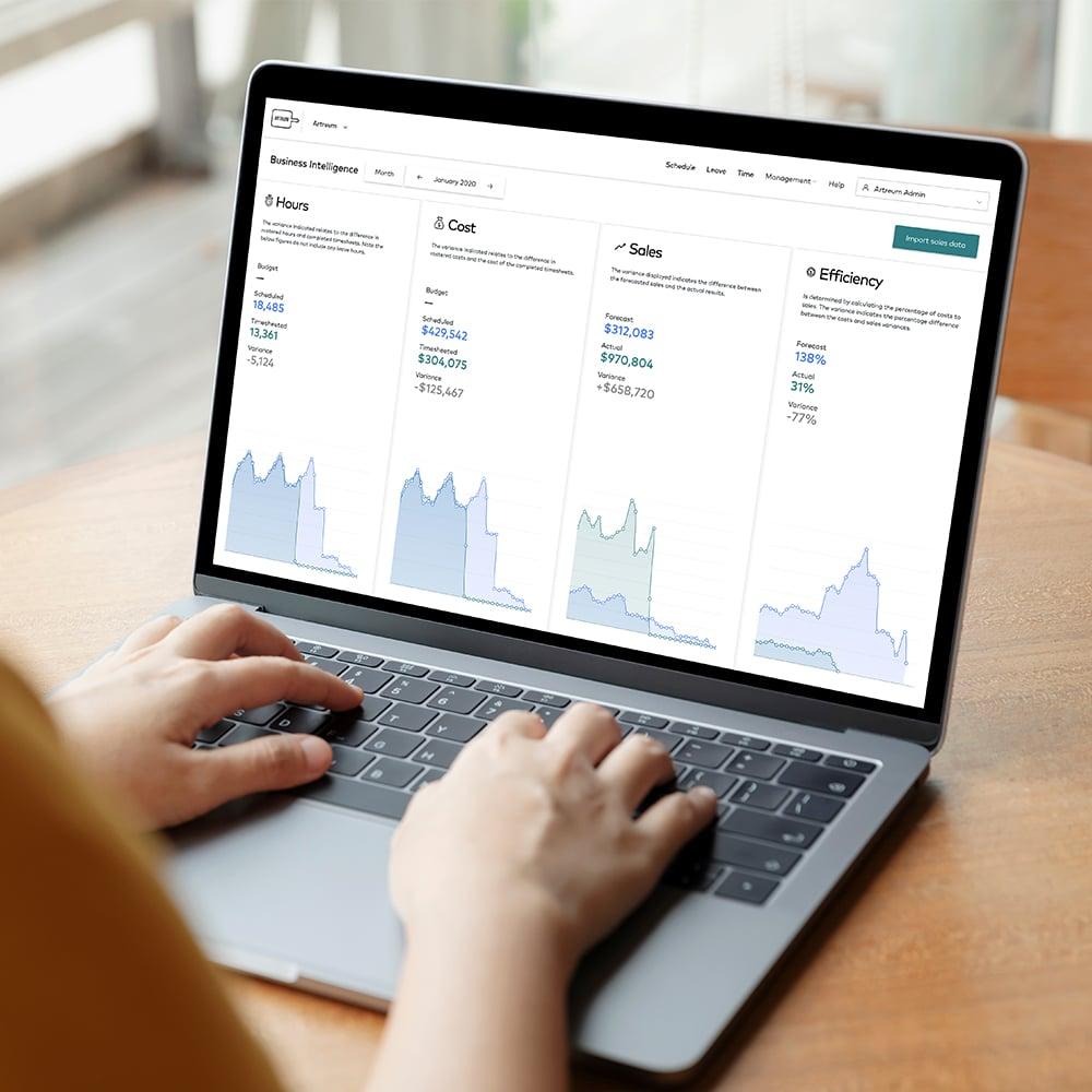 Business-intelligence-on-laptop