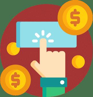 Finance app illustration