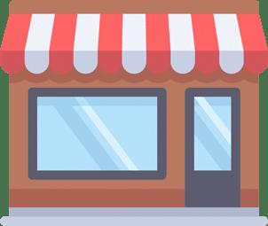 Shop front illustration