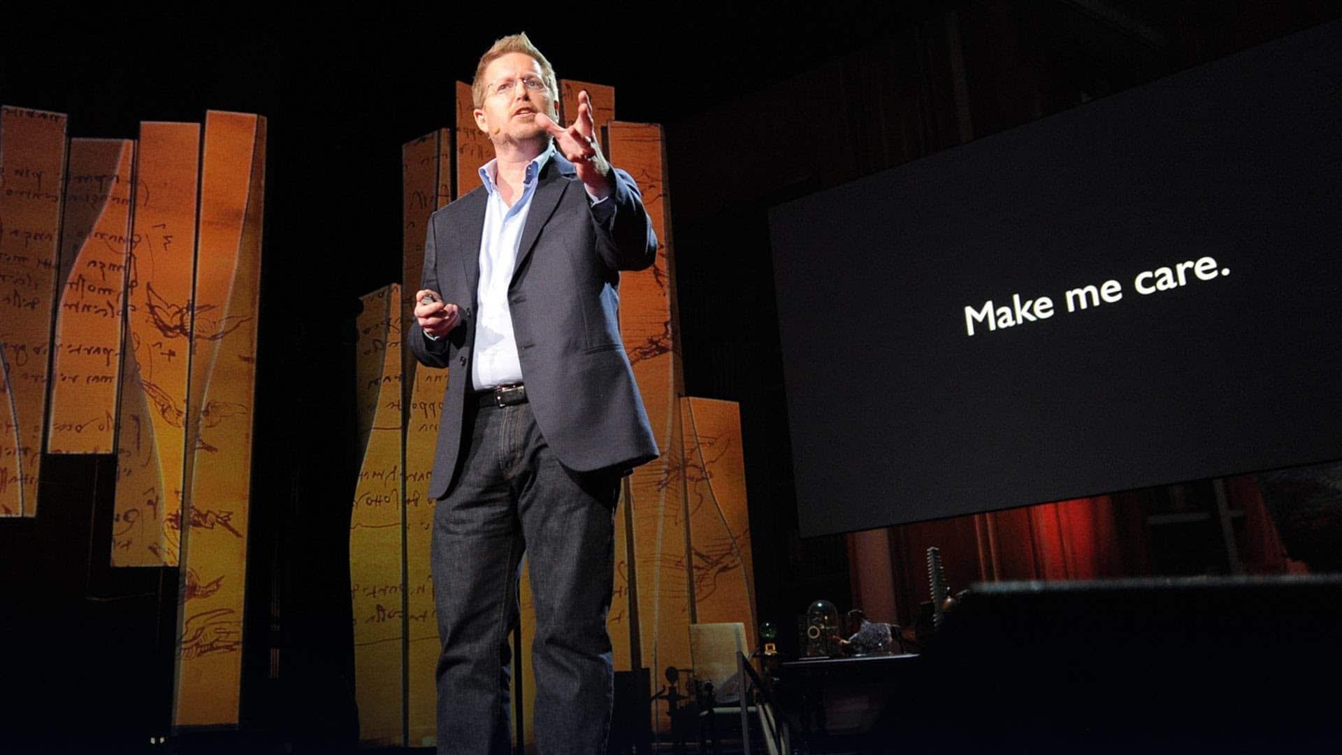 TED Talk Marketing - Andrew Stanton
