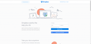 Dropbox-App best business apps