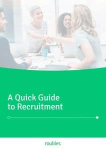 Roubler's Quick Guide to Recruitment E-book