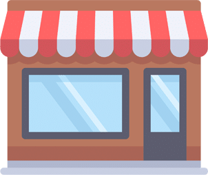 Shop front illustration