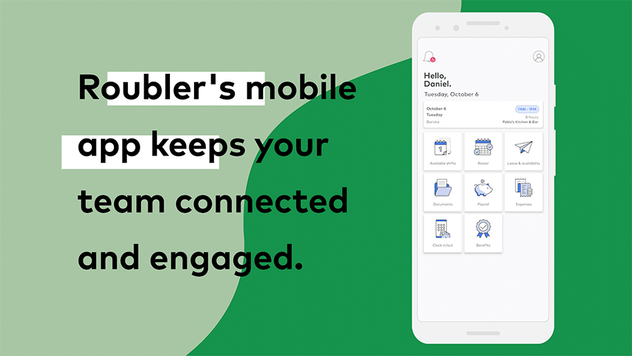 All in one employee mobile app