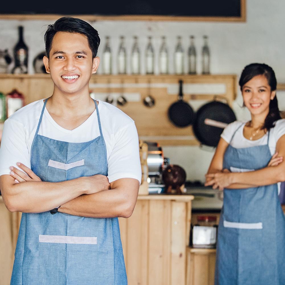 asian hospitality staff