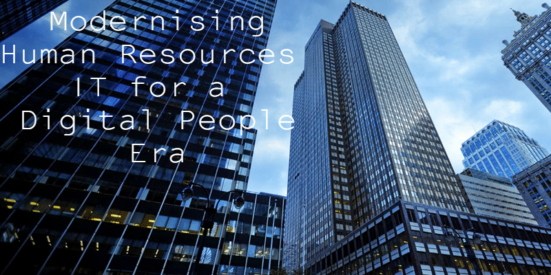 Modernising Human Resources