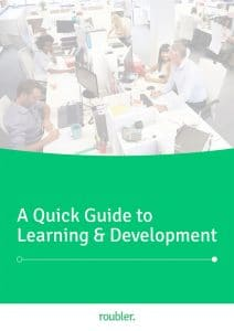 Roubler's quick guide to learning & development