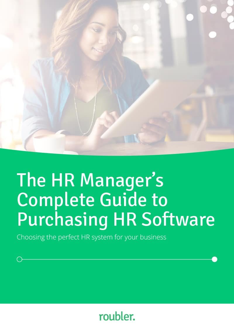 The HR Manager's Guide to Choosing HR Software E-Book