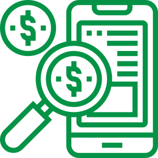 Integrated payroll icon