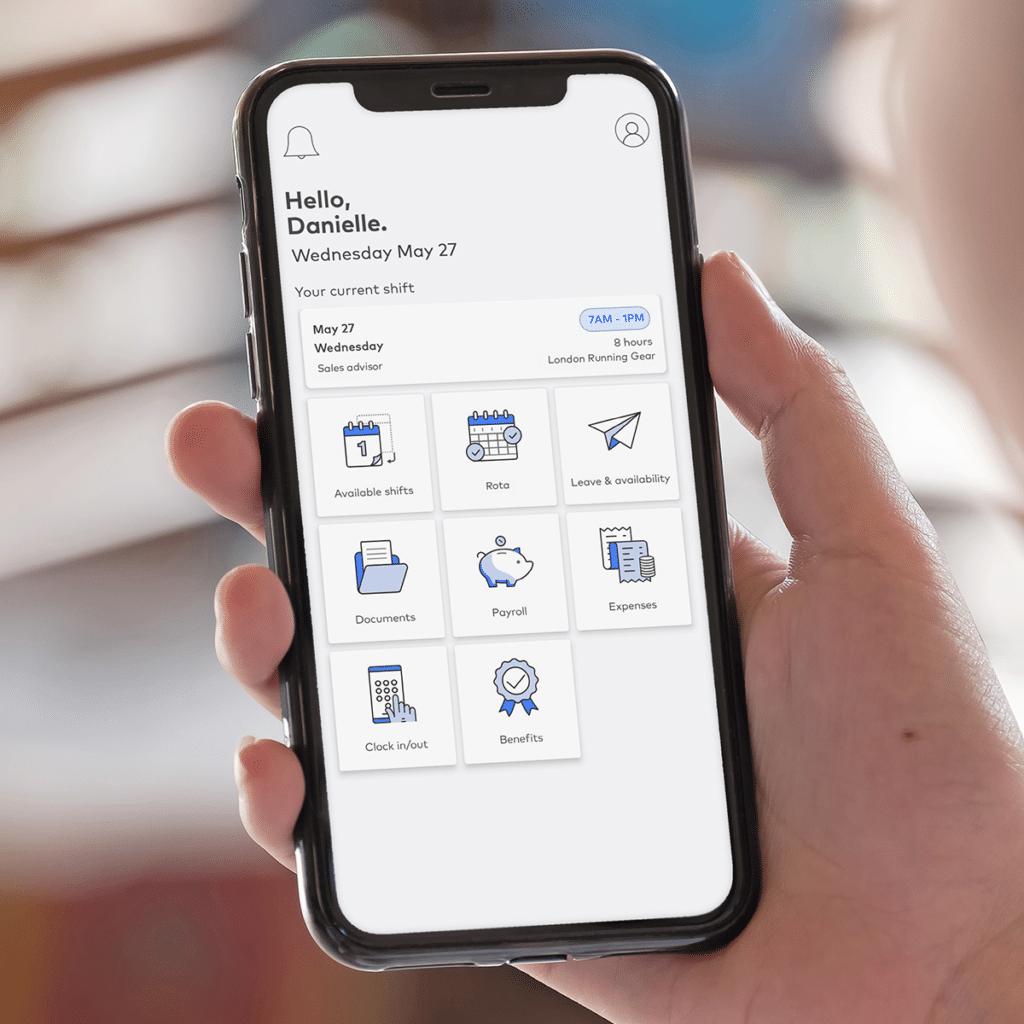 employee app self service