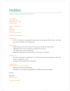 Reference Letter Document- Roubler Resources