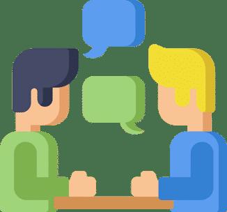 Conversation illustration